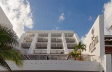 Ocean facing balconies at Casa Mexicana.