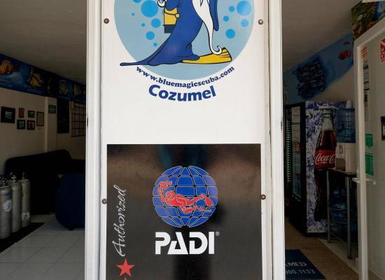 Blue Magic Scuba is a PADI 5-Star IDC center