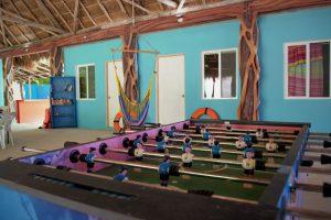 Blue Magic Hostel Foosball Table